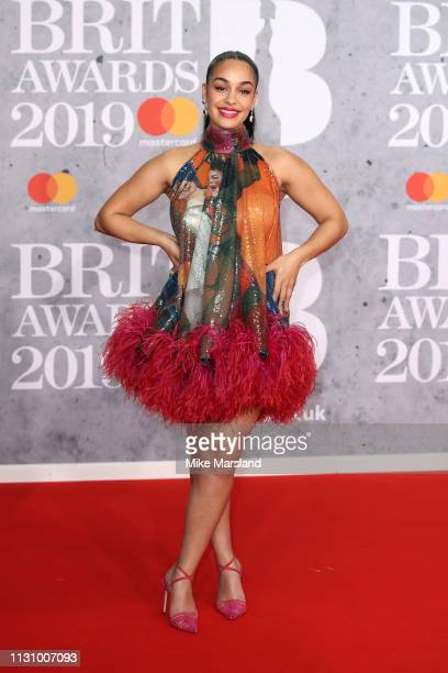 Jorja Smith attends The BRIT Awards 2019 held at The O2 Arena on February 20 2019 in London England