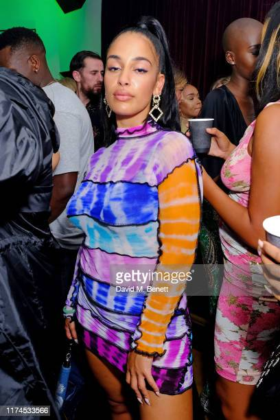 Jorja Smith attends the DIESEL x 'The Afters Club' party to celebrate the launch of their FW19 campaign, 'Enjoy Before Returning' at Laylow on...