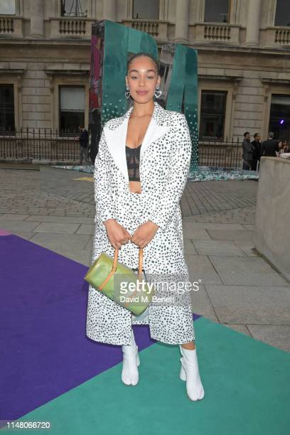 Jorja Smith attends The Royal Academy Of Arts Summer Exhibition preview party on June 4, 2019 in London, England.