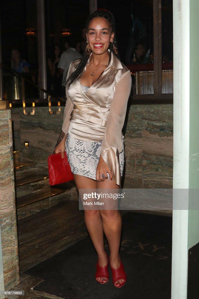 London Celebrity Sightings -  June 20, 2018 : News Photo