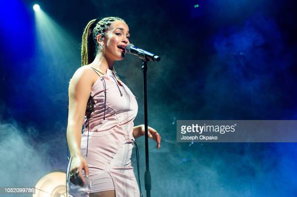 Jorja Smith performs at O2 Academy Birmingham on October 13 2018 in Birmingham England