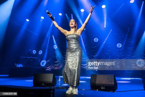 LONDON UK OCTOBER 17 Jorja Smith Performs At The O2 Academy London