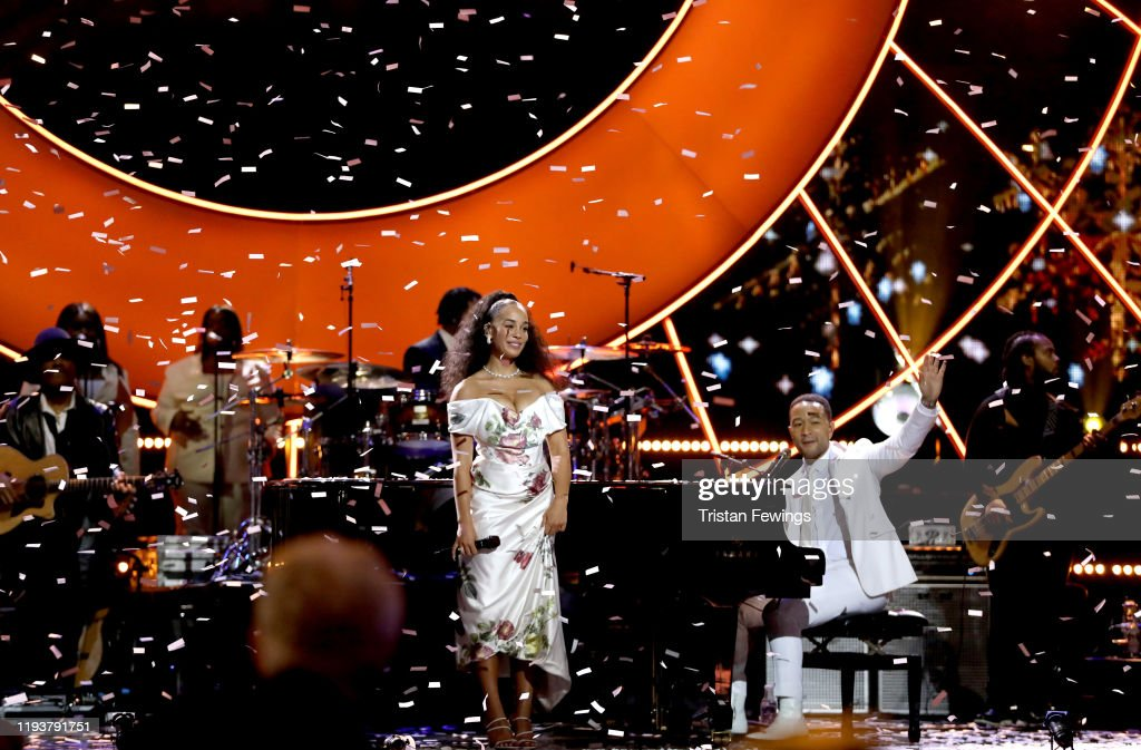 2019 Global Citizen Prize at The Royal Albert Hall - Show : News Photo