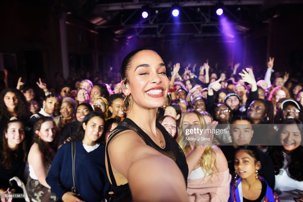 Nike Joins Forces With Jorja Smith : News Photo