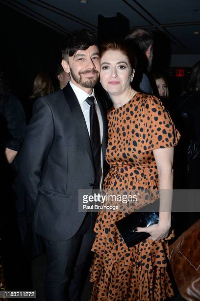 Jorma Taccone and Marielle Heller attend New York Special Screening Of A Beautiful Day In The Neighborhood After Party at Le District Restaurant on...