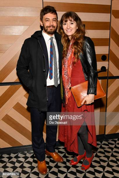 Jorma Taccone and Marielle Heller attends The Last OG New York Premiere After Party at Westlight on March 29 2018 in the Brooklyn borough of New York...