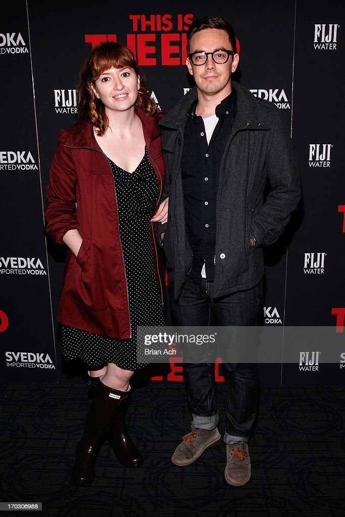 Jorma Taccone attends a special New York screening of Columbia Pictures' 'This Is The End' presented by FIJI water on June 10, 2013 in New York City.