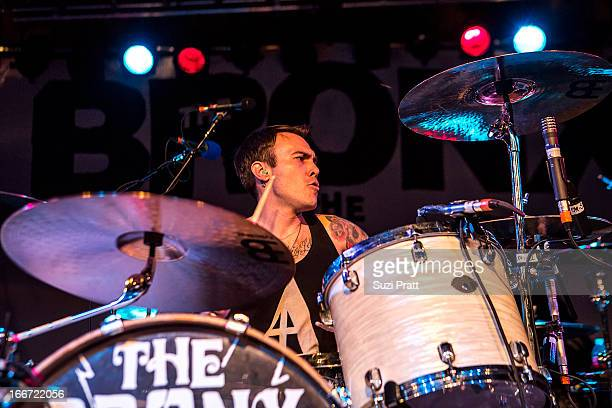 Jorma Vik of The Bronx performs live at The Showbox on April 15 2013 in Seattle Washington