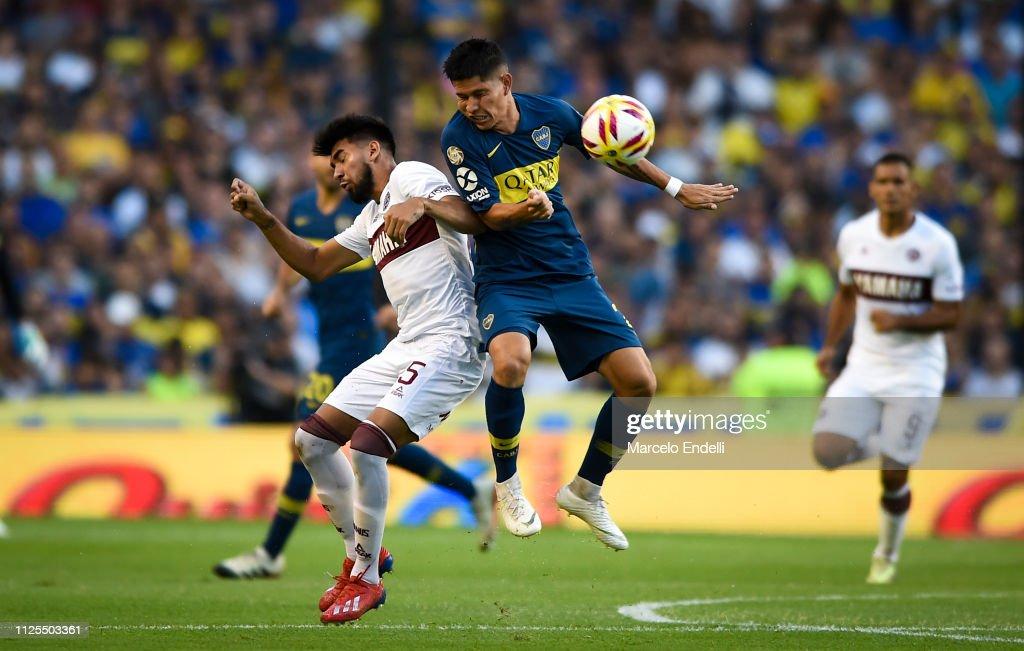 ARG: Boca Juniors v Lanús - Superliga 2018/19