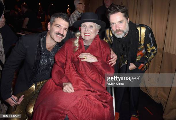 Jorn Weisbrodt Joni Mitchell and Rufus Wainwright attend Joni 75 A Birthday Celebration Live At The Dorothy Chandler Pavilion on November 7 2018 in...
