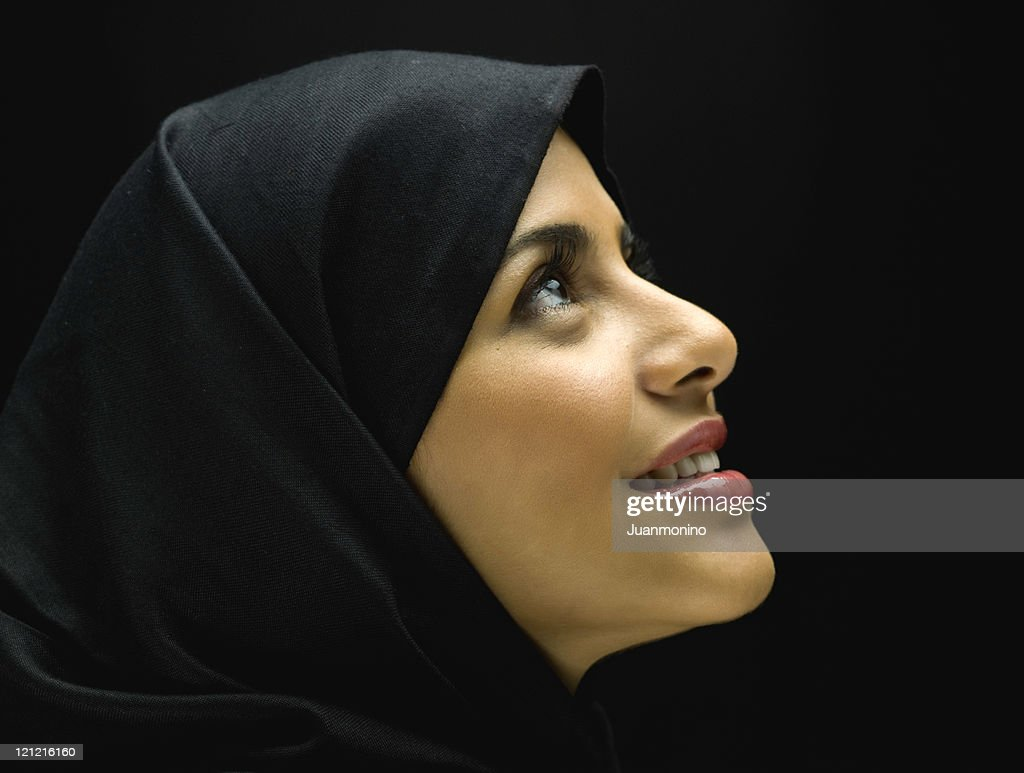 Jornadian Muslim Woman Profile : Stock Photo