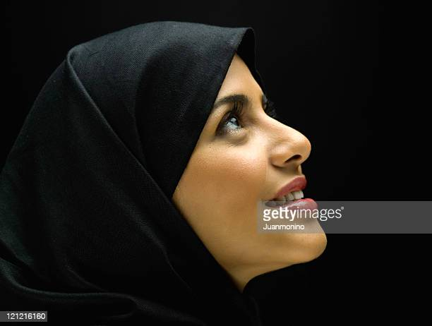 jornadian muslim woman profile - iranian woman stock photos and pictures