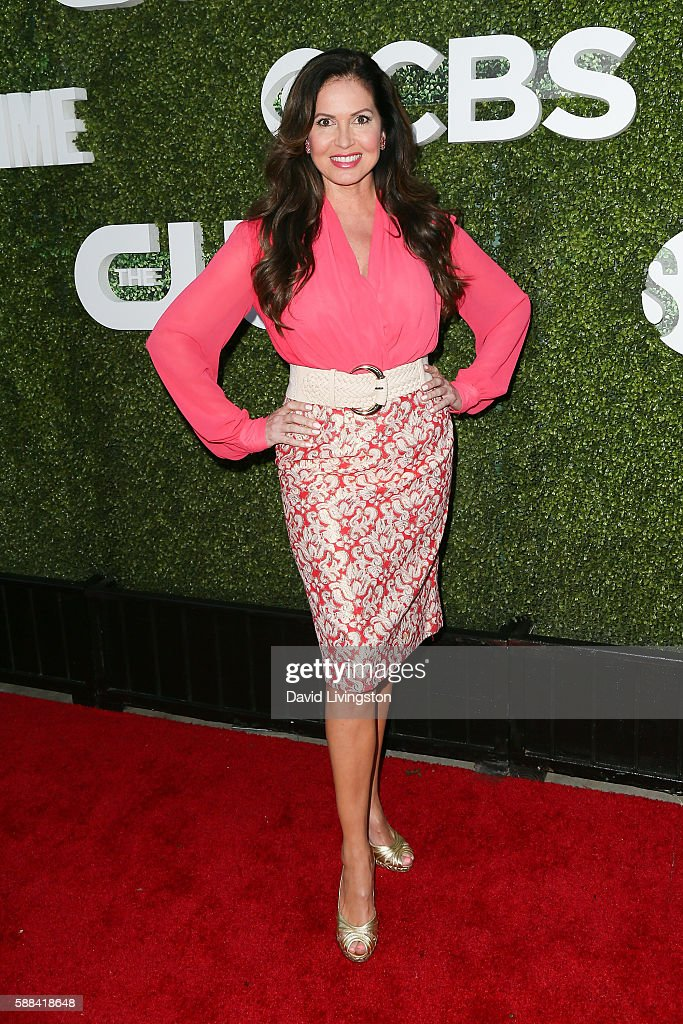 Jornalist Lisa Guerrero arrives at the CBS, CW, Showtime Summer TCA Party at the Pacific Design Center on August 10, 2016 in West Hollywood, California.