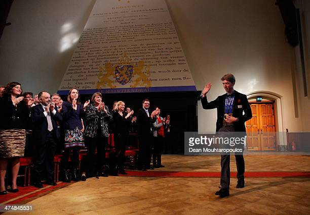 Welcome Home Reception Held For Dutch Winter Olympic