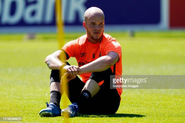 Jorrit Hendrix of PSV during the Training PSV at the PSV Campus De Herdgang on May 29 2020 in Eindhoven Netherlands