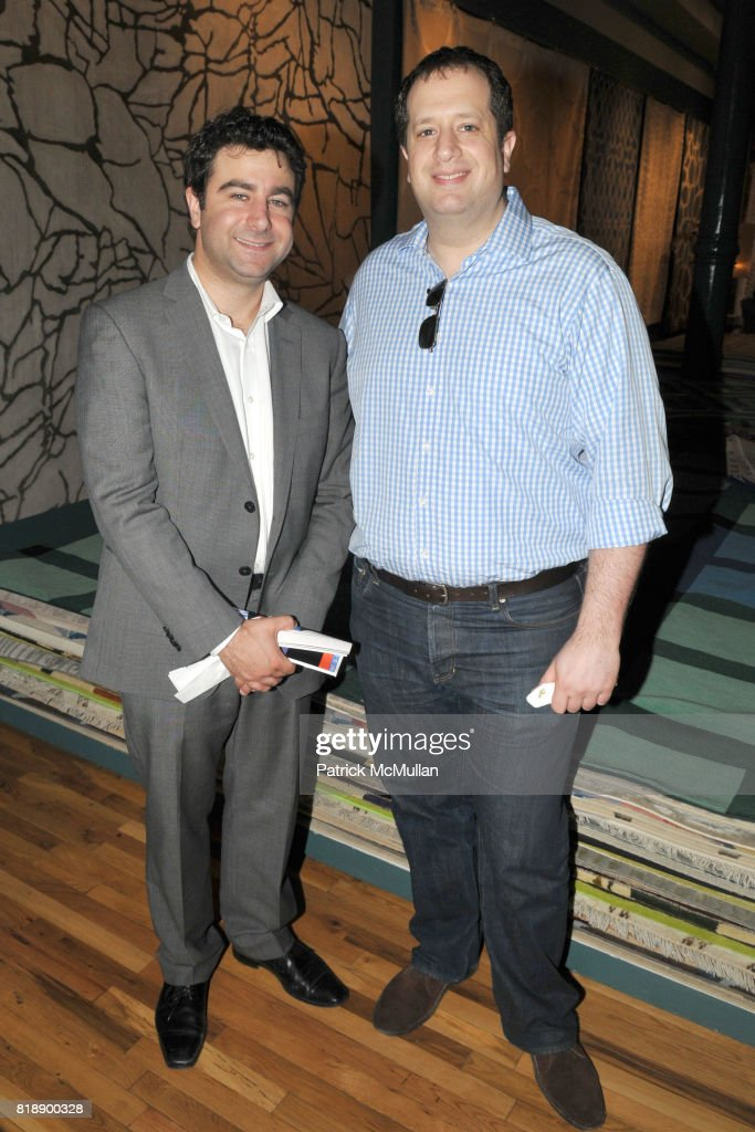 Patrick mcmullan archives pictures getty images jory schwartz and joshua cohen attend the rug company unveils new showroom cocktail party at the sisterspd