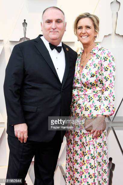 José Andrés and Patricia Andres attend the 91st Annual Academy Awards at Hollywood and Highland on February 24 2019 in Hollywood California