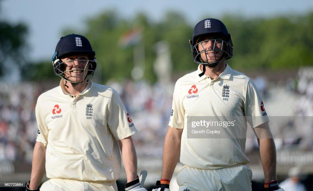 England v Pakistan: NatWest 1st Test - Day Three