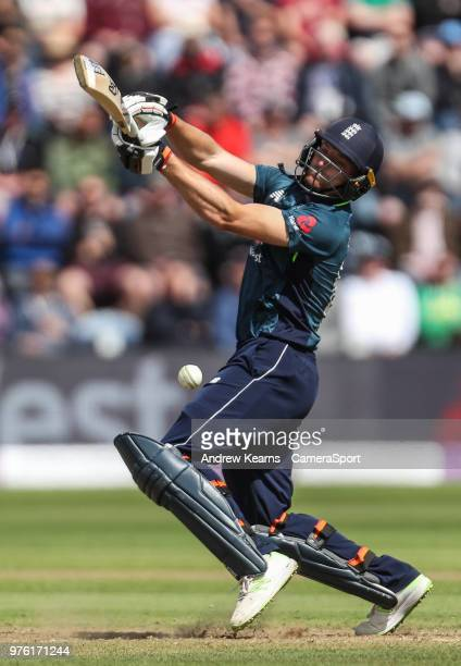 Jos Buttler during the Royal London OneDay Series 2nd ODI between England and Australia at Sophia Gardens on June 16 2018 in Cardiff Wales