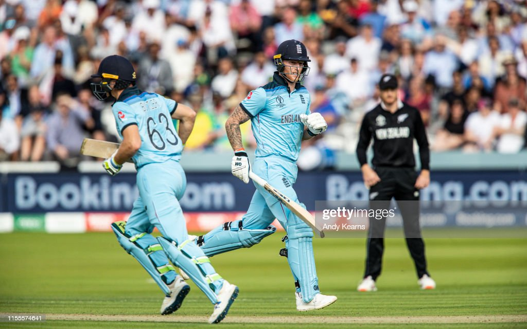 New Zealand v England - ICC Cricket World Cup Final 2019 : News Photo
