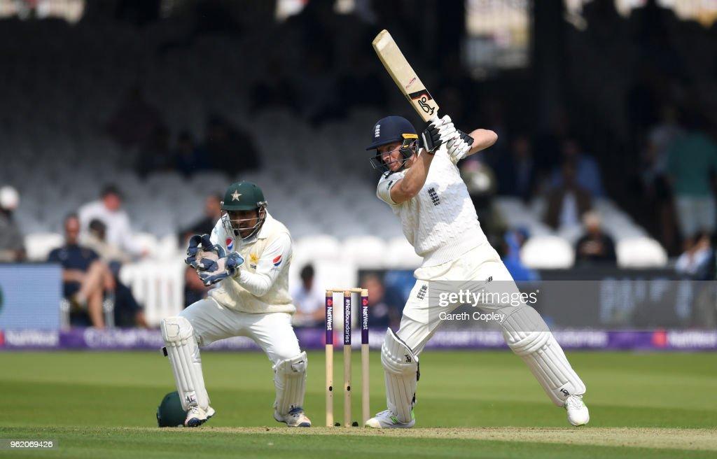 England v Pakistan: NatWest 1st Test - Day One