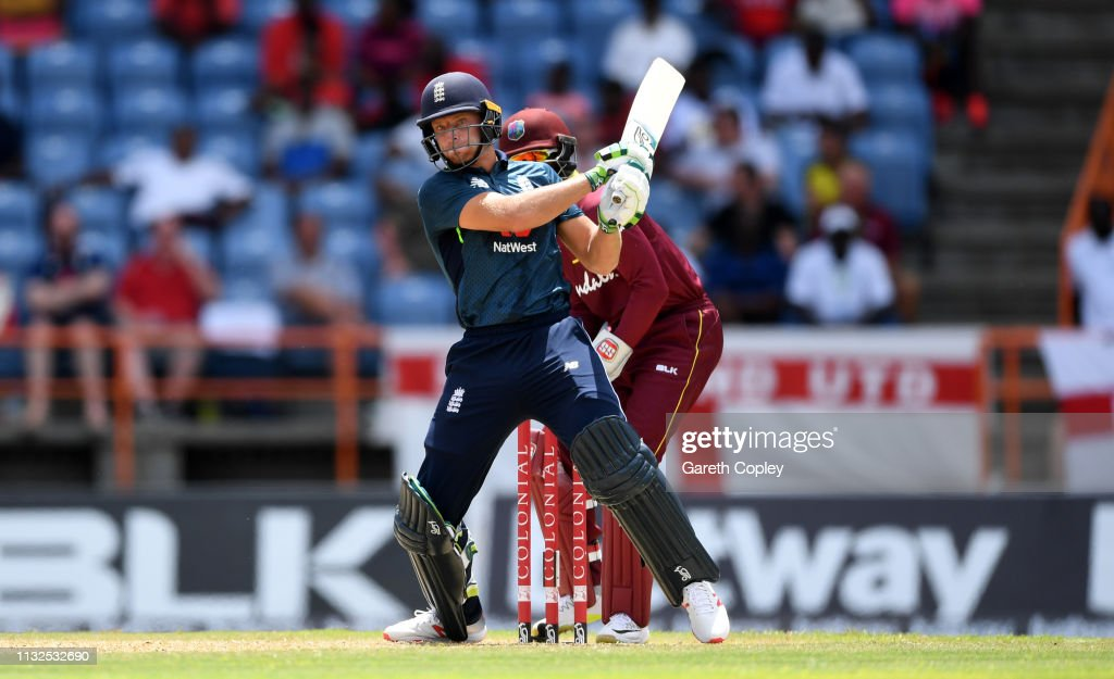 West Indies v England - 4th One Day International : News Photo