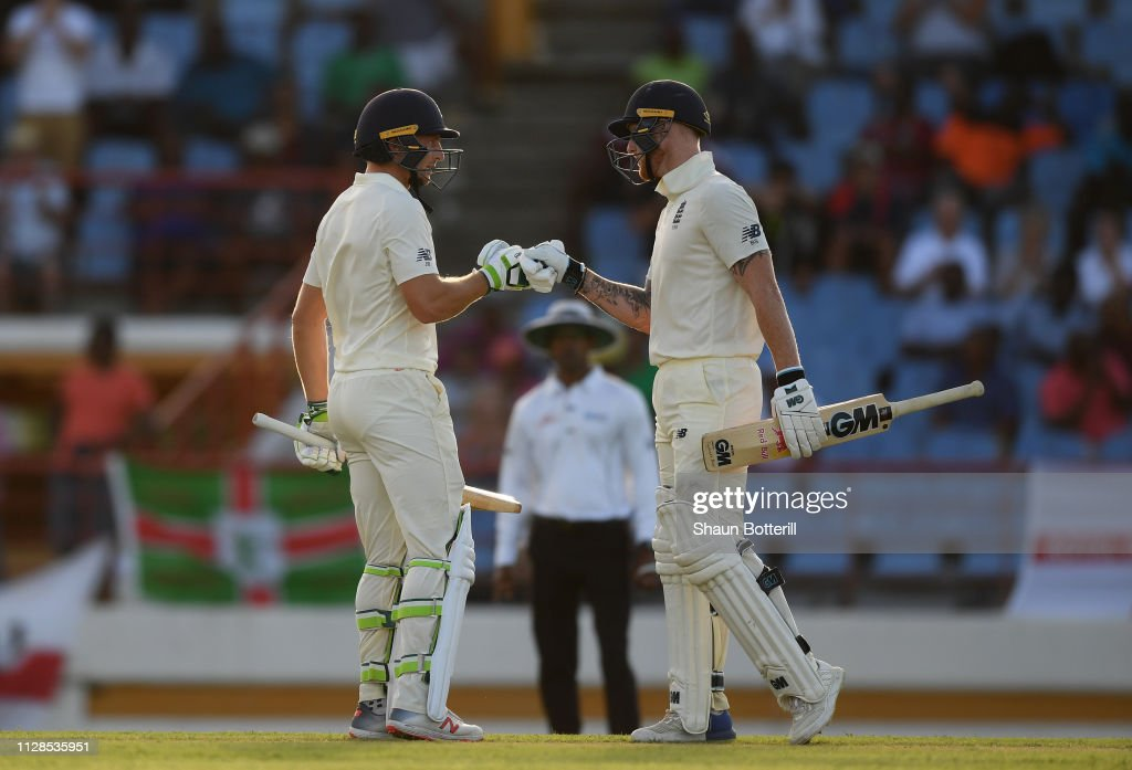 West Indies v England - 3rd Test: Day One : News Photo