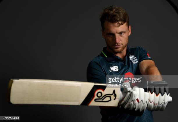 Jos Buttler of England poses for a portrait at The Kia Oval on June 12 2018 in London England