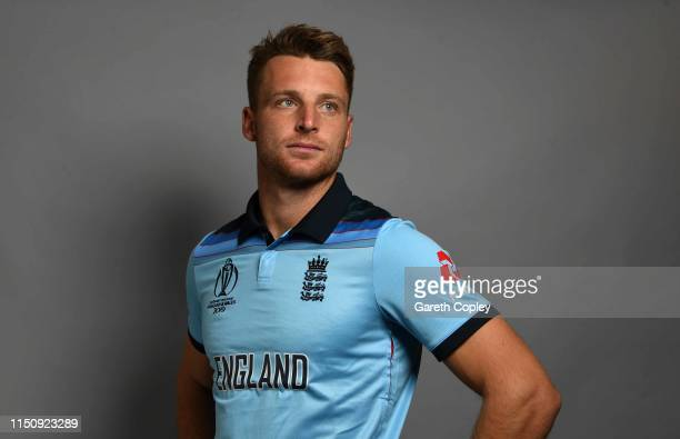Jos Buttler of England poses for a portrait on May 13 2019 in Bristol England