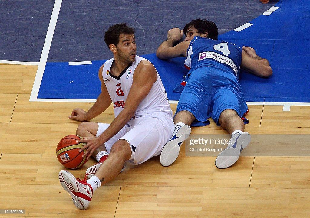 Spain v Serbia - EuroBasket 2011