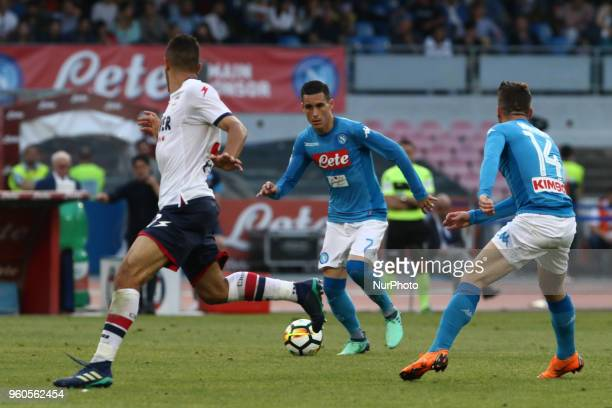 Jos Callejon during the Italian Serie A football SSC Napoli v FC Crotone at S Paolo Stadium in Naples on May 20 2018