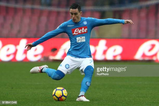 Jos Callejon during the Italian Serie A football SSC Napoli v Spal at S Paolo Stadium in Naples on February 18 2018