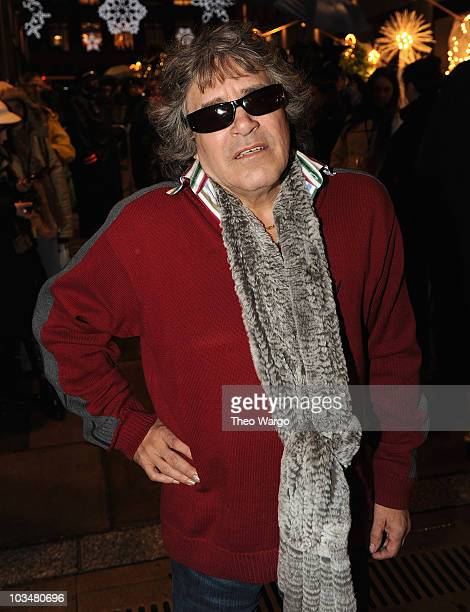 José Feliciano attends the Rockefeller Center Christmas tree lighting at Rockefeller Center on December 2 2009 in New York City