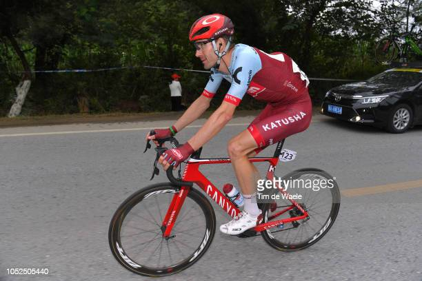 José Gonçalves of Portugal and Team KatushaAlpecin / during the 2nd Tour of Guangxi 2018 Stage 4 a 1522km stage from Nanning to Mashan NonglaScenic...
