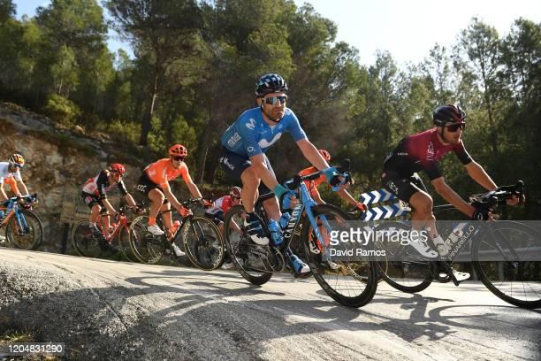 José Joaquín Rojas of Spain and Movistar Team / Gianni Moscon of Italy and Team INEOS / during the 71st Volta a la Comunitat Valenciana 2020, Stage 4...