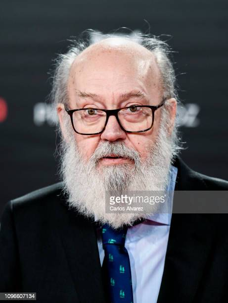 José Luis Cuerda attends during Feroz awards red carpet on January 19 2019 in Bilbao Spain