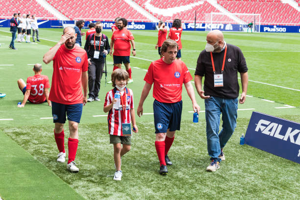 ESP: Football Charity Match With Spanish Celebrities