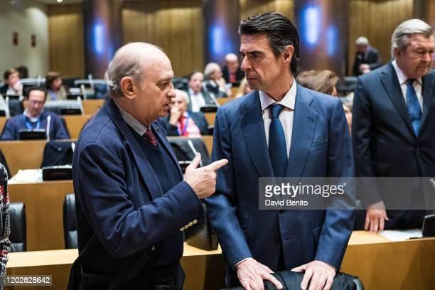 José Manuel Soria López attends 'Memorias heterodoxas' book presentation at Palacio de Congresos on January 29 2020 in Madrid Spain