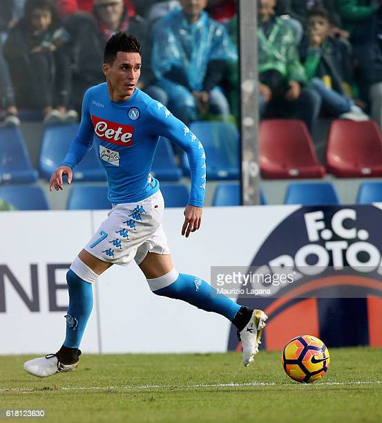 Josè Maria Callejon of Napoli during the Serie A match between FC Crotone and SSC Napoli at Stadio Comunale Ezio Scida on October 23 2016 in Crotone...