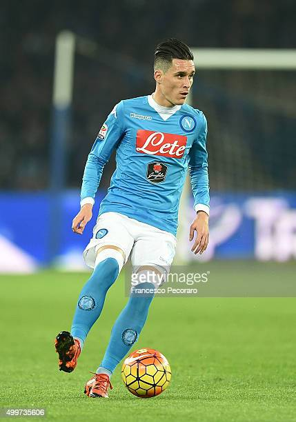 Josè Maria Callejon of Napoli in action during the Serie A match between SSC Napoli and FC Internazionale Milano at Stadio San Paolo on November 30...
