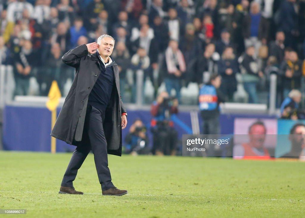 Juventus v Manchester United - UEFA Champions League Group H : News Photo