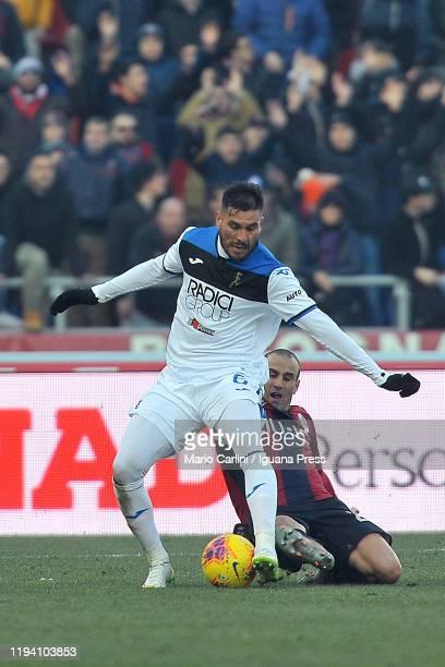 José Palomino of Atalanta BC in action during the Serie A match between Bologna FC and Atalanta BC at Stadio Renato Dall'Ara on December 15 2019 in...