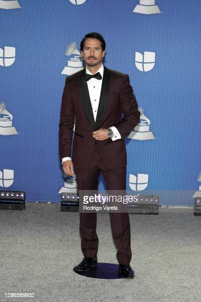 José Ron attends The 21st Annual Latin GRAMMY Awards at American Airlines Arena on November 19, 2020 in Miami, Florida.