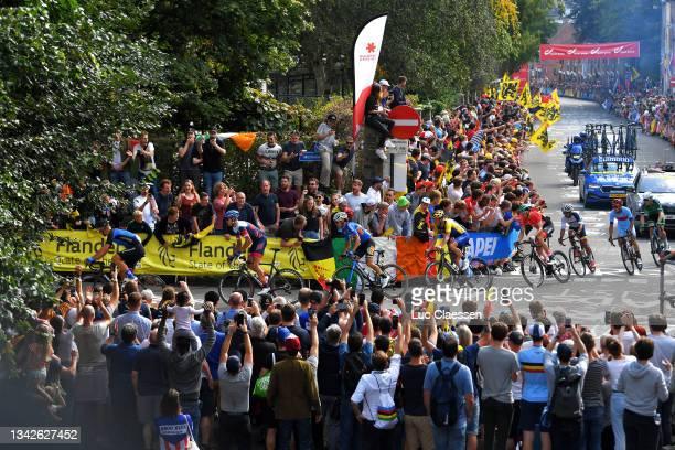 José Tito Hernández Jaramillo of Colombia, Joel Burbano Coral of Ecuador, Pavel Kochetkov of Russia Cycling Federation, Patrick Gamper of Austria,...