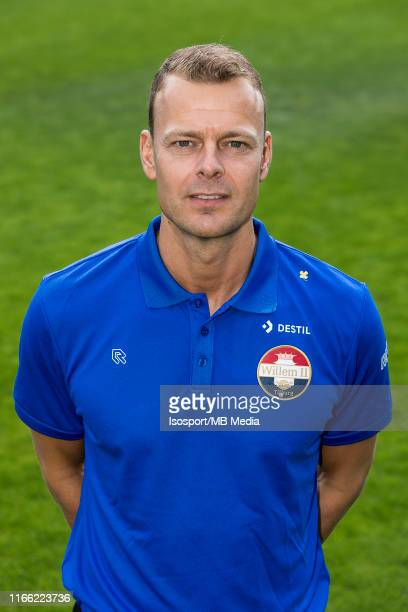 Jos van Nieuwstadt during the 2019 2020 season photo shoot of Willem II on July 05 2019 in Tilburg The Netherlands