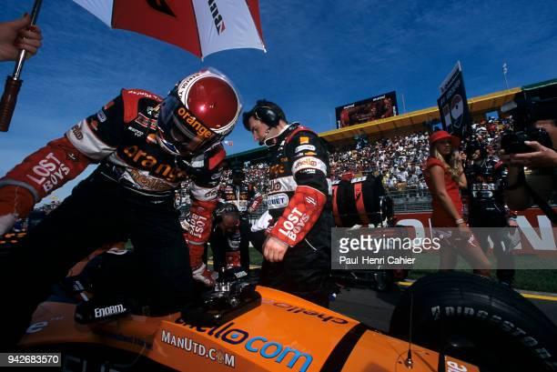Jos Verstappen ArrowsSupertec A21 Grand Prix of Australia Albert Park Melbourne Grand Prix Circuit 12 March 2000 Jos Verstappen father of Max...