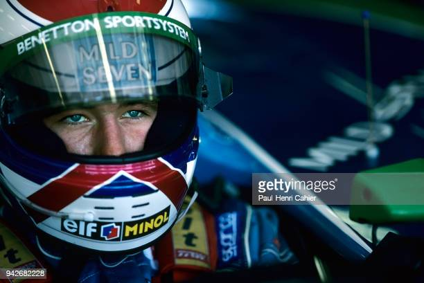 Jos Verstappen BenettonFord B194 Grand Prix of Hungary Hungaroring 14 August 1994 Jos Verstappen scored third place and a podium in the 1994...