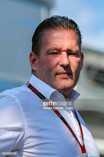Jos Verstappen in the paddock during the 2015 Formula 1 Shell Belgian Grand Prix at Circuit de Spa-Francorchamps in Belgium, August 23, 2015.