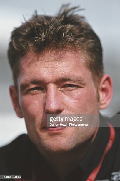 Jos Verstappen of the Netherlands driver of the Arrows F1 Team Arrows A21 Supertec V10 during practice for the Formula One Australian Grand Prix on...