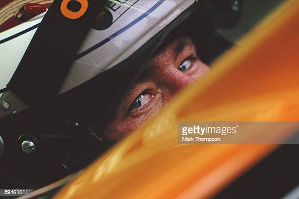 Jos Verstappen of the Netherlands driver of the Orange Arrows Asiatech Arrows A22 Asiatech V10 during in season testing on 24 May 2000 at the Circuit...